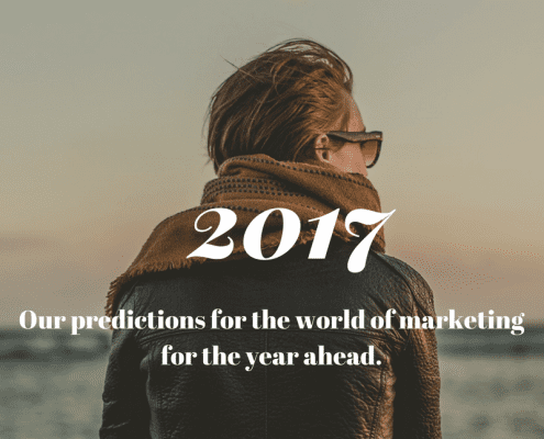 2017 predictions for Marketing