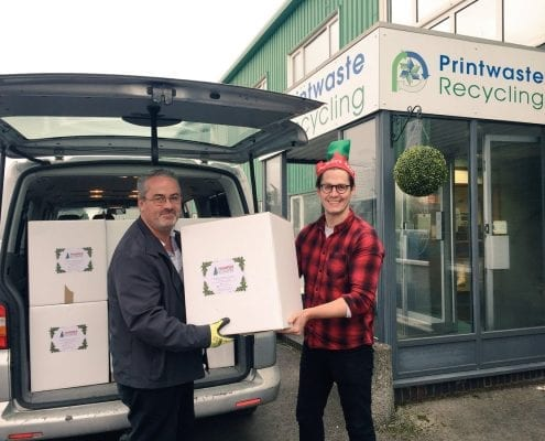 Chris Robins from Printwaste Recycling and Shredding